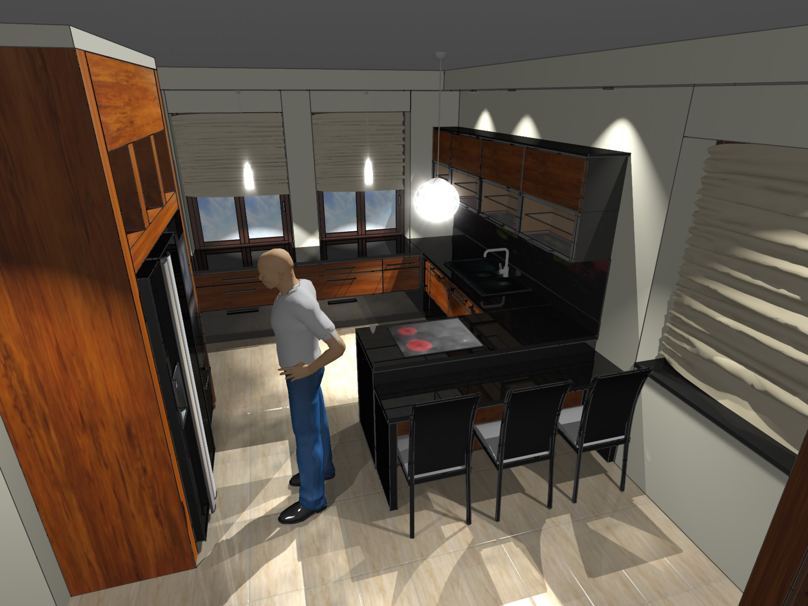 Kuchnia Nowoczesna 1 Emka Studio